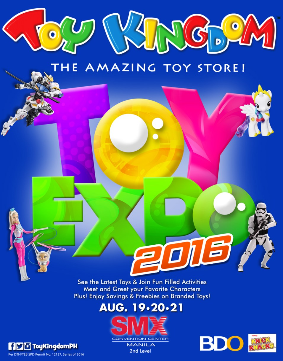 Toy Expo Poster