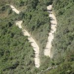 Inca trail is around 42 kilometers (26 miles)