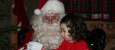 Christmas in Burlington with Santa Claus