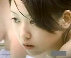【芸能人盗撮動画】デビュー当時の安室奈美恵に激似過ぎて本人かと錯覚するレベルの子を露天風呂盗撮…