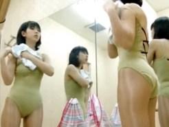 【着替え盗撮動画】バレエ教室に通うプリ尻の素人がレオタードに着替える様子を隠しカメラ撮り…