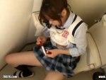 【女子校生オナニー隠撮動画】トイレ内でペン型ローターを取り出した制服女子の自慰行為を隠しカメラ撮りww