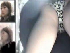 【逆さ撮り隠撮動画】スーパーの買い物客や若いアルバイトスタッフのパンツを接写で隠し撮りww