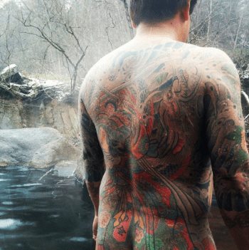 tatouage onsen japon
