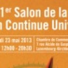1er Salon de la Formation Continue Universitaire au Luxembourg