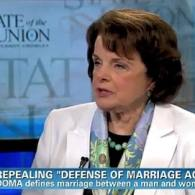 Senator Dianne Feinstein Talks About Bill Repealing DOMA: VIDEO