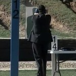 As Santorum Shoots Target, Woman Yells 'Pretend It's Obama': VIDEO
