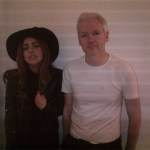 Lady Gaga and Wikileaks' Julian Assange Have Dinner: PHOTO