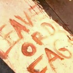 Gay Texas Couple Wakes Up to Find 'Leave Or Die Fags' Painted on Their Front Porch: VIDEO