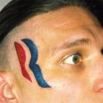 From the Dept. of Regrettable Tattoos: The Romney Ryan Logo