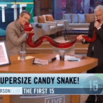 Anderson Cooper And Andy Cohen Bite Into 'Party Python:' VIDEO