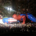 Uncle Sam and Spider-Man Enjoy Some Pre-Macy's Thanksgiving Day Parade Festivities: PHOTO