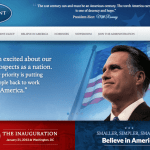 The President-Elect Romney Transition Site That Never Will Be