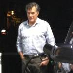 Disheveled Mitt Romney Spotted Pumping Gas in La Jolla: PHOTO