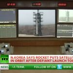 North Korea Launches Long Range Rocket, Claims to Put Satellite in Orbit: VIDEO