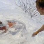 Swimmer Wakes from Snow Nap in Finland, Goes for Icy Dip: VIDEO