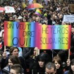 Thousands March For Marriage Equality In Paris: VIDEO