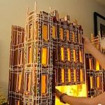 A Downton Abbey Gingerbread House: VIDEO