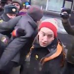 Russian Police Detain Protesters After Scuffle During Protest Against Ban on 'Gay Propaganda': VIDEO