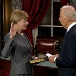 Tammy Baldwin Sworn In, is First Out Gay U.S. Senator: VIDEO