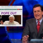 Stephen Colbert Thought the Pope Was Coming Out of the Closet: VIDEO