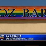 Go-Go Dancer Helps Subdue Ax-Wielding Man In Gay Club