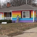 Shirley Phelps-Roper Loves the New 'Sodomite Rainbow House' Across the Street from Westboro Baptist: VIDEO