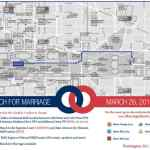 Here's the Route of the NOM Hate March Against Equality: MAP