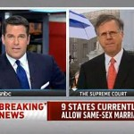 NBC's Pete Williams Says SCOTUS Not Ready to Issue 'Any Kind of Sweeping Ruling' on Gay Rights: VIDEO