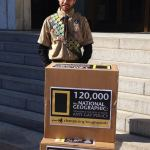 Eagle Scout Delivers 120,000 Petitions Calling on 'National Geographic Channel' to Denounce Boy Scouts' Gay Ban: VIDEO