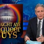 Jon Stewart Examines the Senate Stampede to Support Gay Marriage: VIDEO