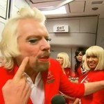 Sir Richard Branson Dons Drag, Serves as Flight Attendent After Losing Bet: VIDEO