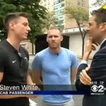 Chicago Cabbie Tells Gay Couple to Get Out of Taxi on Expressway for Kissing: VIDEO