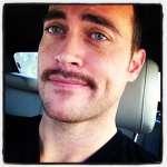 Cheyenne Jackson: Mustache Man