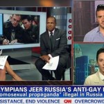 Gay Olympians Blake Skjellerup and Johnny Weir Speak Out on CNN Against Sochi Boycott: VIDEO