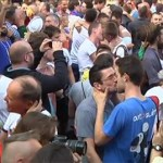 Belgians Stage Gay Kiss-In In Front Of Russian Consulate In Antwerp: VIDEO