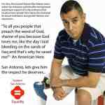 Gay Marine Vet Eric Alva Booed At San Antonio City Council Meeting