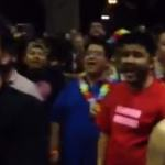 Crowds Sing After the Passage of Marriage Equality in Hawaii: VIDEO