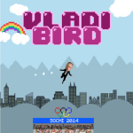 In Russian-Themed 'Flappy Bird' Spoof, Vladimir Putin Must Avoid the Furry Man Rumps