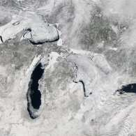 NASA Image Shows 88 Percent Ice Cover on Great Lakes: PHOTO