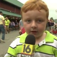 'Apparently' Adorable Ginger Kid Gives Viral County Fair Interview: VIDEO