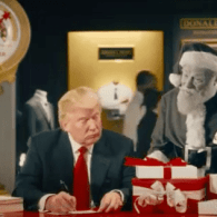 Donald Trump Pledges to 'Assault' the War on Christmas in Rambling Answer to Anti-LGBT Question: VIDEO