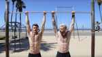 Nathan McCallum Kyle Krieger hot workout video