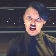 Watch as This Homophobic Teen is Turned Into Hitler by Her Anti-Gay Hate Speech: VIDEO