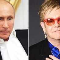 Elton John Vladimir Putin pranked