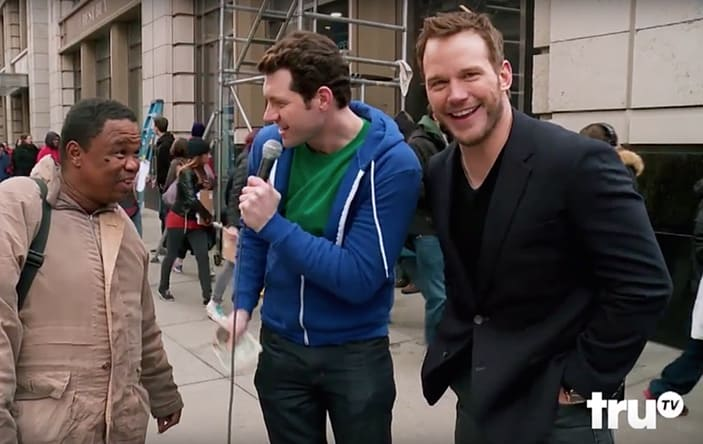Chris Pratt joins Billy on the Street