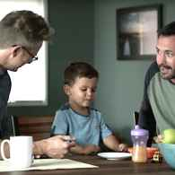 Gay campbell's soup ad