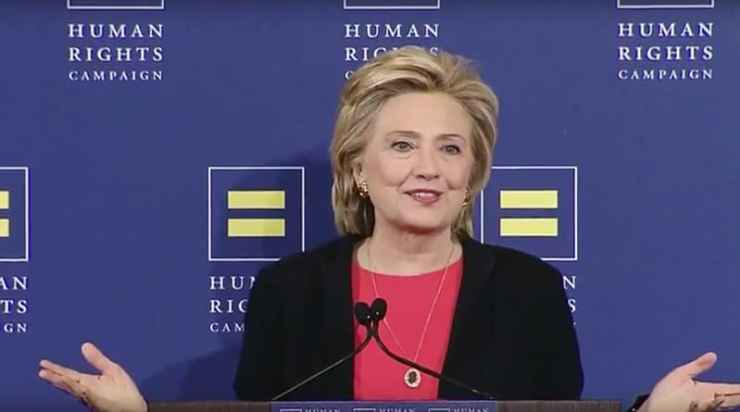 Hillary Clinton Human Rights Campaign