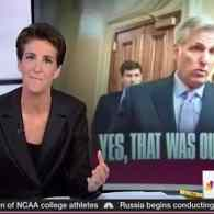 Rachel Maddow on Kevin McCarthy, Benghazi, and the Terrifying Thought of Him as Speaker: WATCH