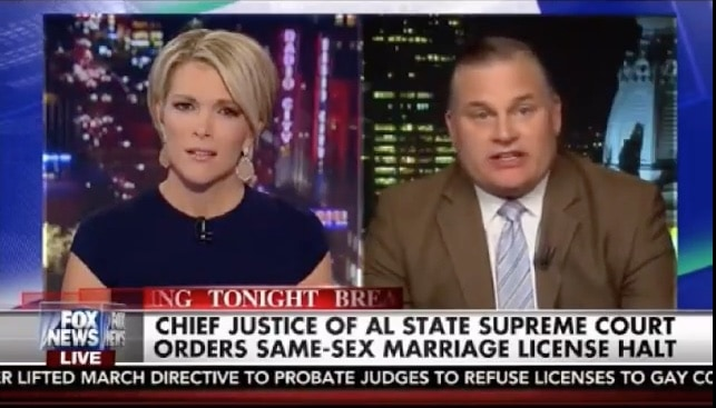Megyn Kelly not amused by Brian Brown